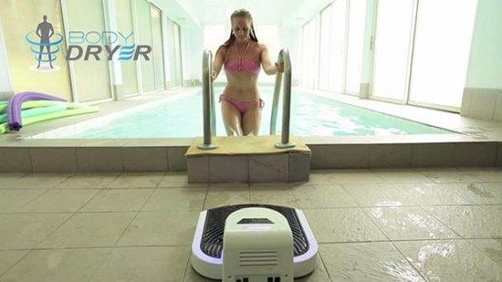 跟浴巾说再见 身体烘干机让湿湿的身体速干