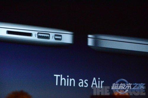 苹果新Macbook Pro解析 配视网膜屏幕