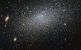 哈勃望远镜发现神秘隐居星系