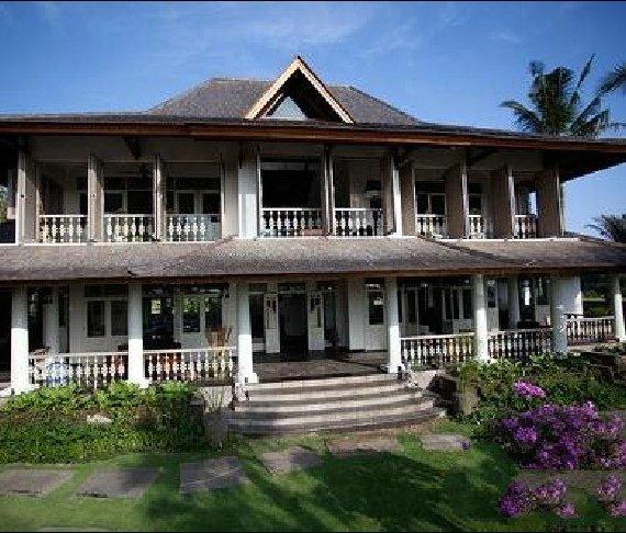 巴利岛的荷兰风格美景别墅