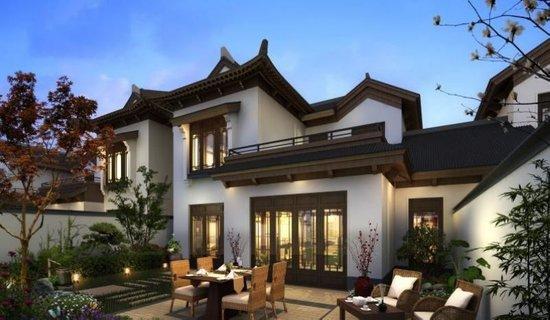 新中式院落亮相展会 颠覆你对传统别墅的印象
