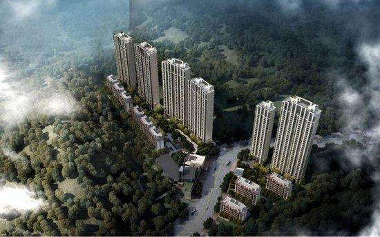华润·半山悦景梦享人居与绿荫