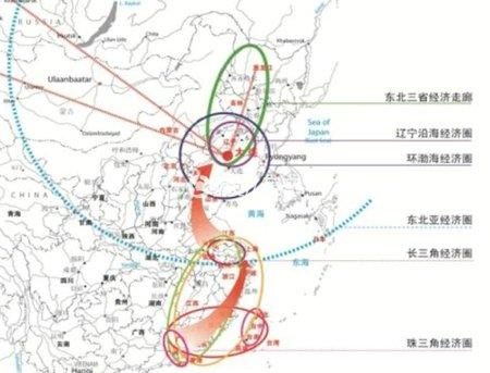 """""""美誉的大连位于东北亚经济区与环渤海经济圈的核心位置,是东北亚商贸"""