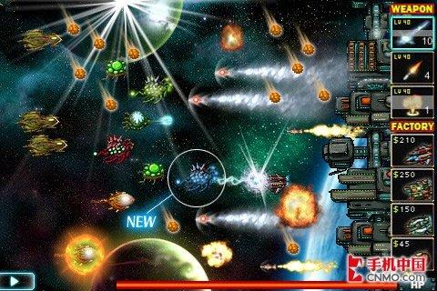 iphone射击战队篮球防御战starshipdefense战斗星河萌卡界面开服图片