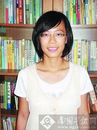 专访广西高考尖子生 美女状元是舞蹈达人(图)
