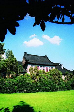南京大学校园风景图片