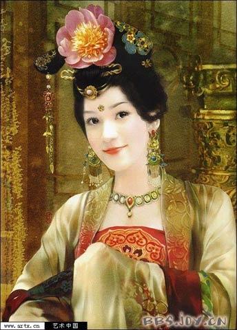 姬德珍手绘古装美女精选_女生收藏_教育_腾讯网