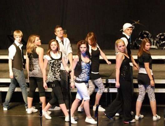艺术类: Show Choir艺术表演团