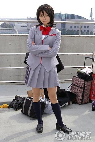 日本女生高中透明校服