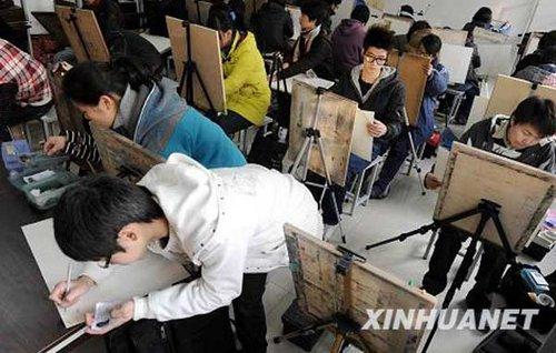 浙江:普通高校美术类专业统考开考