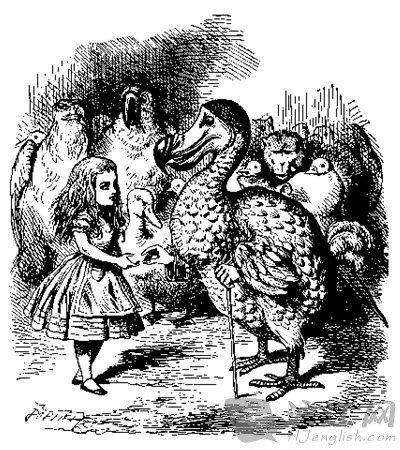 《爱丽丝梦游仙境》十大经典台词中英对照