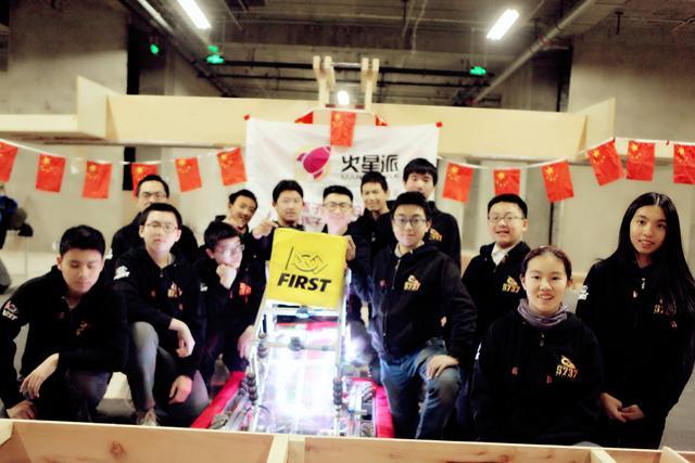 为中国而战,5737队即将出征美国机器赛FRC