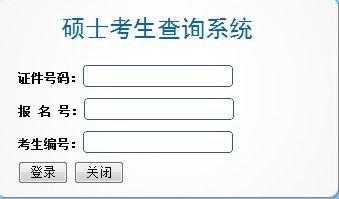 中南财经政法大学2013年考研成绩查询