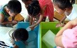 幼儿园停电多日 放冰块降温