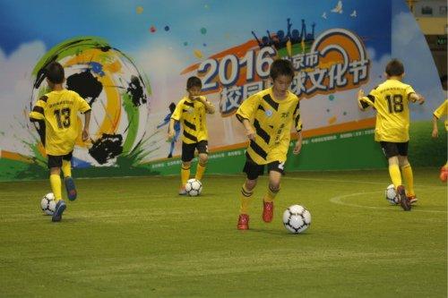 首届北京校园足球文化节 征集作品多达3266件