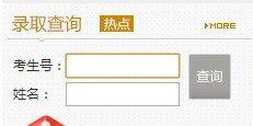2013年青岛滨海学院高考录取查询系统