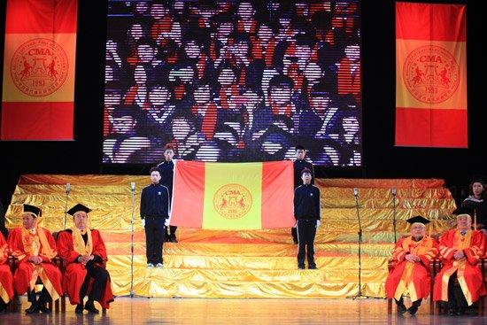 北音2012盛大毕业典礼 明星毕业生成焦点