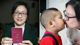 她带宝宝名校读研:娃陪我上学 我陪娃长大