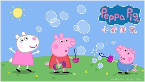 不一样的动画绘本,体验小猪佩奇阅读颠覆抠吐喉视频图片