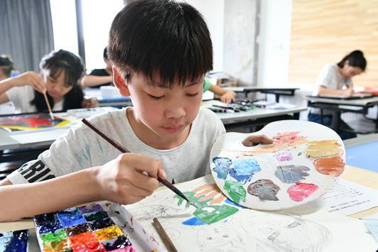 全国青少年美术素养大赛赛制革新:引领美术大