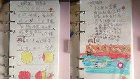 图文并茂!现在的小学一年级学生日记是这样的