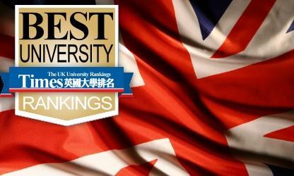 2016最新TIMES英国大学排名完整版来袭