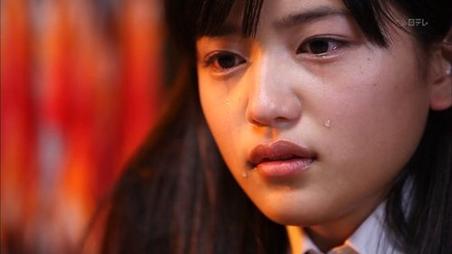 日本沈佳宜美女高中生清纯脱俗