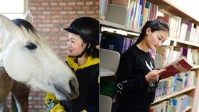 马业专业女生的日常,马匹护理、繁育都得会