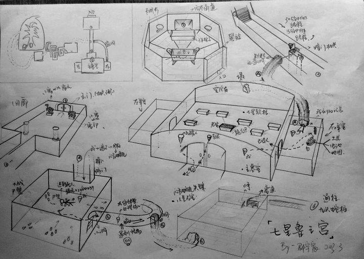 建筑系 考研手绘