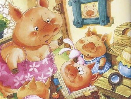 少儿英语:经典童话故事 三只小猪