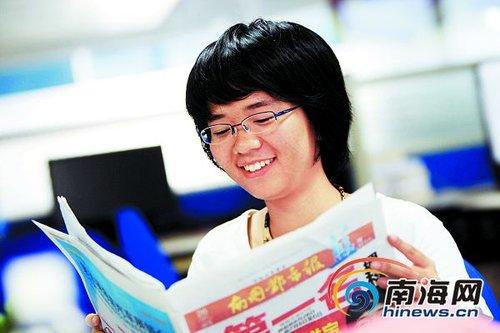 海南高考理科状元刘奕君:成长比成绩更重要