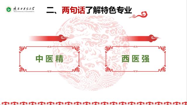 陕西中医药大学 中医药精西医强 优势专业保驾护航