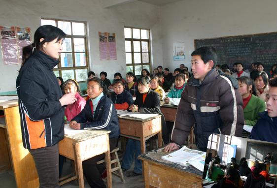 """杰出农村教师别评成""""吃苦""""教师"""