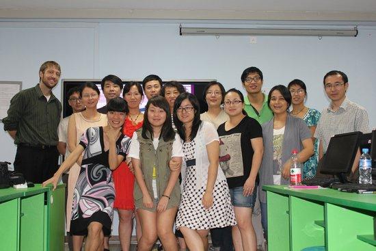 教师培训在上海经济管理学院诚功举办