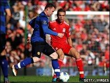 Wayne Rooney and Jordan Henderson