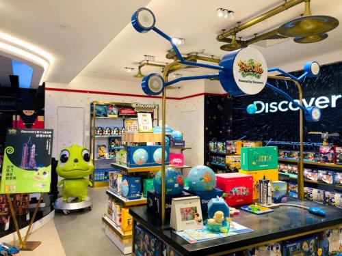 """Discovery好奇DD龙""""六一""""布局线下,打造儿童STEM教育玩学新体"""