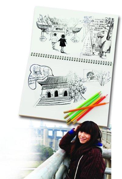 北京妞来南京寻春天 手绘古都游记感受南北不同