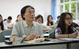 83岁老人在大学旁听古汉语课