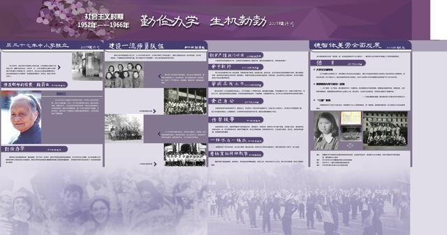 社会主义建设时期(1952-1966)勤俭办学 厚德载物