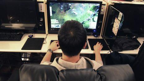 电脑游戏_可惜上中学后迷上了电脑游戏