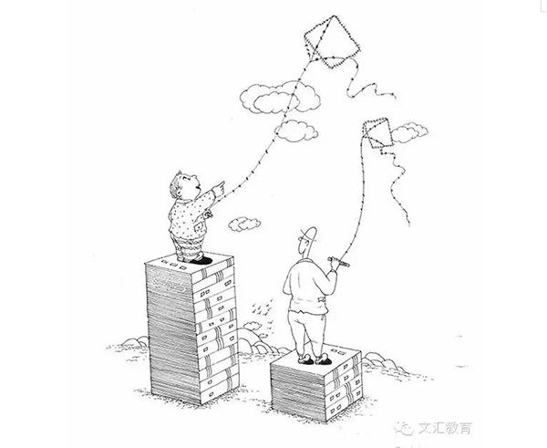 从20幅漫画看中国教育的本质