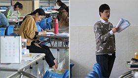 高校食堂变自习室 学生:这里可以大声读书