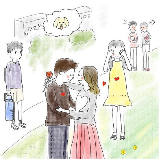 调查称63%受访大学生可接受情侣公开场合浅吻