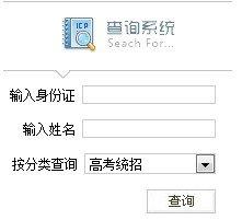 2013年大连外国语大学高考录取查询系统