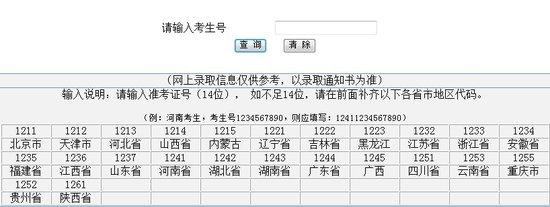 2013年哈尔滨医科大学高考录取查询系统