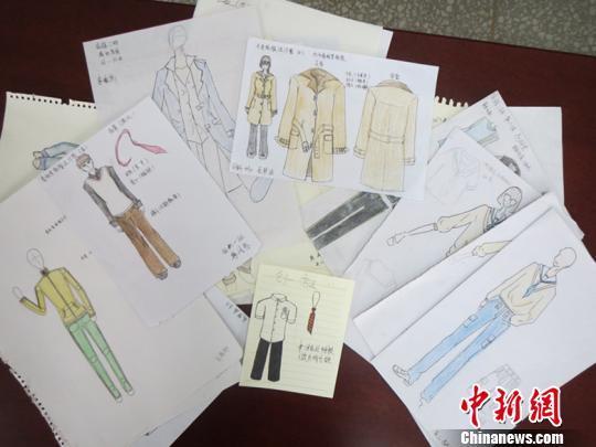 """河南高中生设计""""专属校服"""":丰富校服文化图片"""