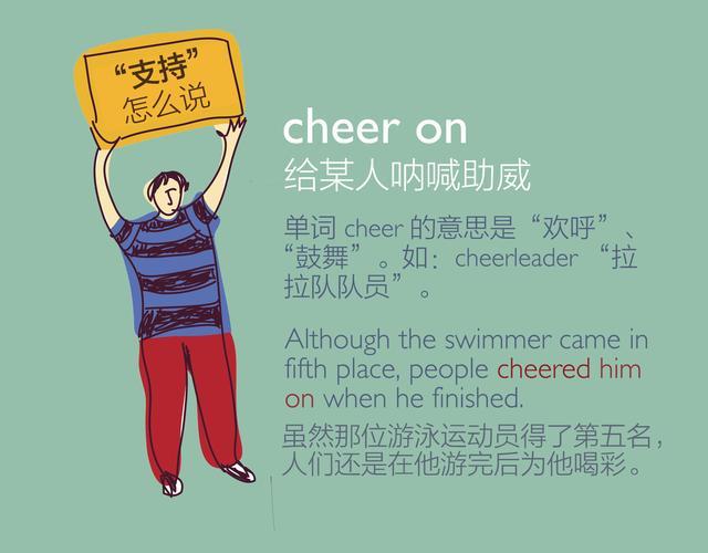 "BBC奥运英语:用英语为喜欢的运动员""加油"""