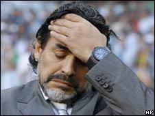 Diego Maradonna, Argentina coach