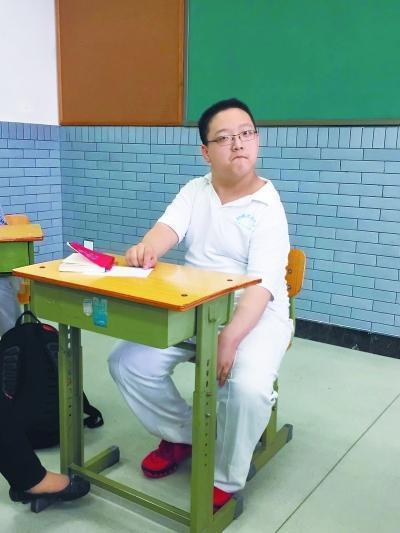北京脑瘫少年高考使用单独考场 自招初审均通过