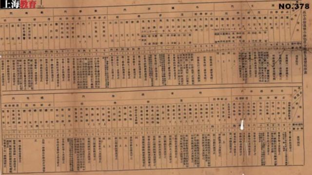 一张百年前的课程表 看看清末的高中生学什么